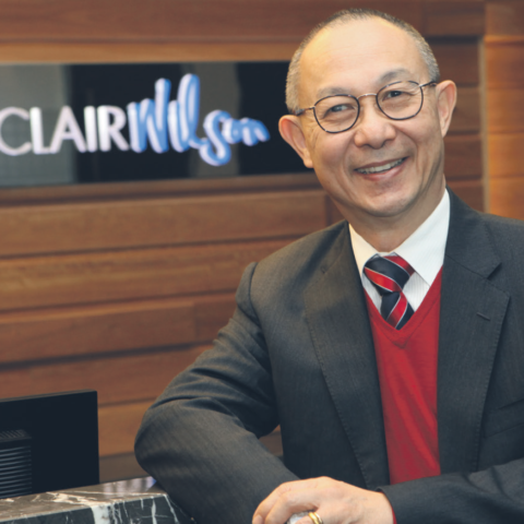 Former Chairperson Perry Cho