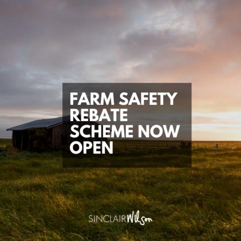 Camperdown Farm Safety Rebate Scheme now open