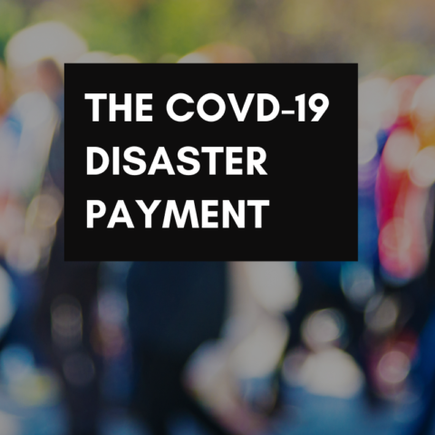 COVID-19 disaster payment